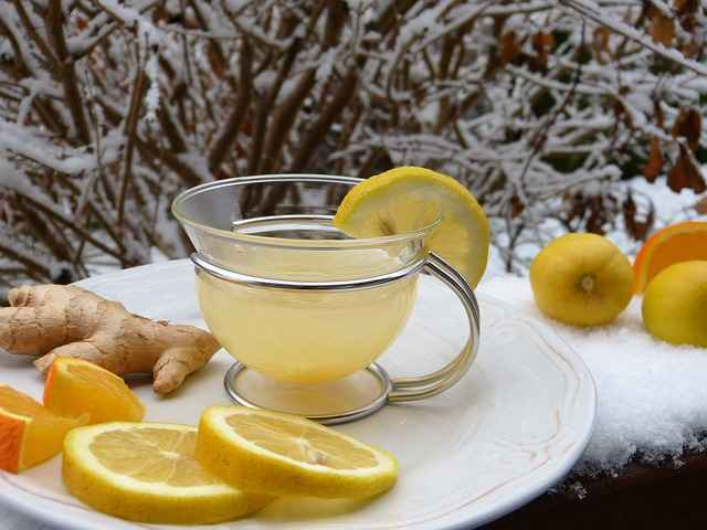 lemon and ginger lose fat